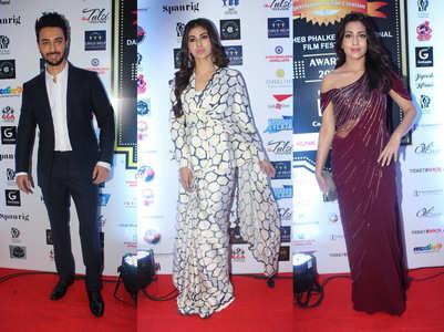 Celebs at Dadasaheb Phalke Awards