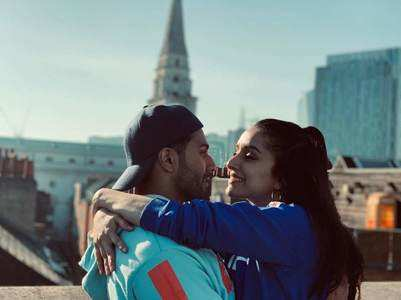 Varun-Shraddha shoot song on top of O2 arena