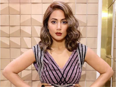 TV star Hina Khan's first win in 2019