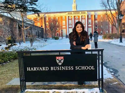 Pics: Tanushree Dutta speaks at Harvard
