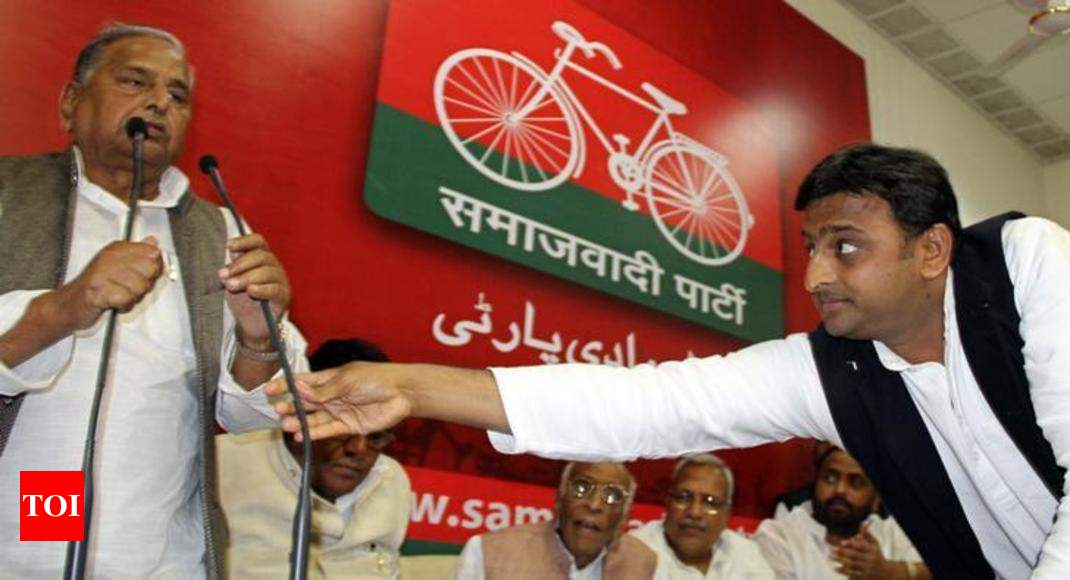 'Who is finishing the party': Mulayam criticises Akhilesh Yadav's seat-sharing agreement with Mayawati -