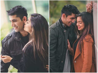 Divya Agarwal's romantic pics with bf Varun
