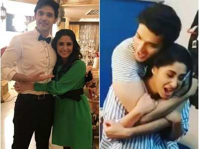 KZK's Shubhaavi lifts Parth in this video