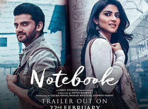 WATCH: 'Notebook' makers amp up the excitement for the trailer of the Zaheer Iqbal-Pranutan Bahl starrer with a teaser video