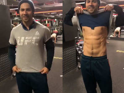 Varun shows off his body in his latest post