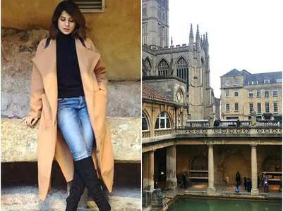 Jennifer Winget is on a vacation to the UK