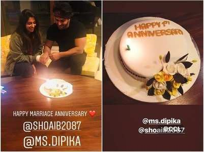 Dipika, Shoaib set to celebrate 1st anniv.