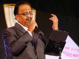 SP Balasubramanyam to perform in Bengaluru