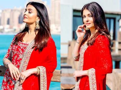 Aishwarya Rai Bachchan shines like a newlywed bride