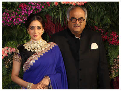 Boney to auction Sridevi's sari for charity