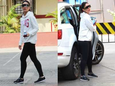 Kareena steps out in futuristic sunglasses