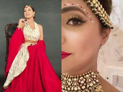 Hina Khan looks stunning as bride in KZK