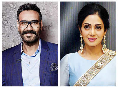 Ajay Devgn fondly remembers Sridevi