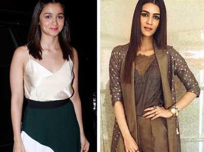 Alia Bhatt grooves to Kriti Sanon's chartbuster