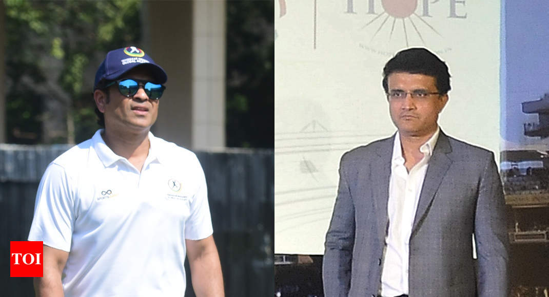 Sachin Tendulkar wants two points, I want the World Cup: Sourav Ganguly - Times of India