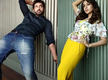 Ankush imitates Mimi's pose and it's hilarious