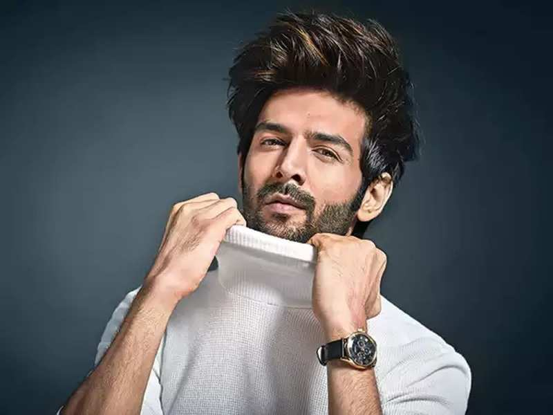 Kartik Aaryan Joins The List Of Trendsetters In Bollywood With His Hairstyle Hindi Movie News Times Of India