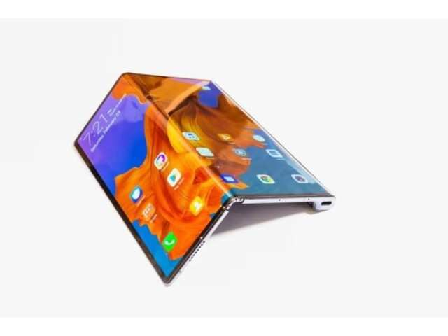 Huawei launches its first foldable 5G smartphone, Huawei Mate X