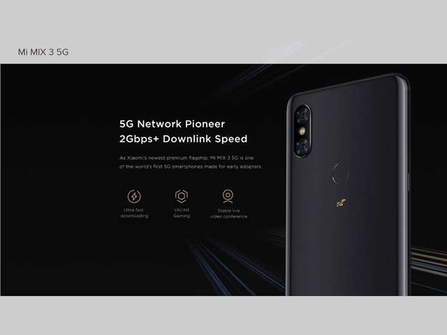 Xiaomi Mi Mix 3 5G with sliding front camera launched at MWC 2019