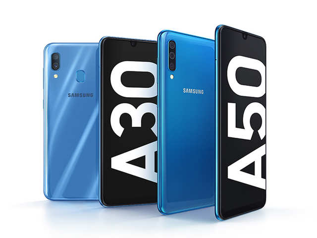 Samsung unveils new mid-range Galaxy A30, A50 smartphones; may launch in India next month