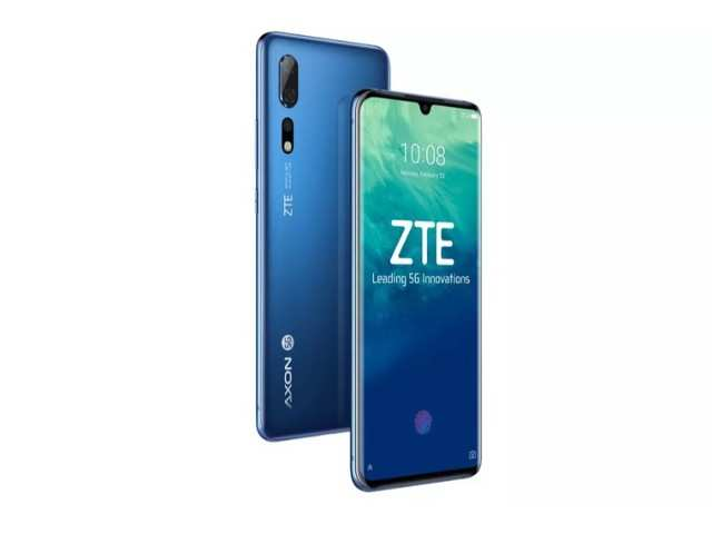 ZTE Axon 10 Pro 5G smartphone launched at MWC 2019