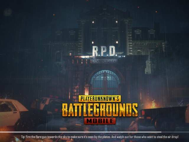 PUBG Mobile zombie mode's mysterious building