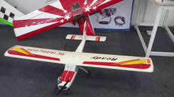 Model aircraft show in Coimbatore