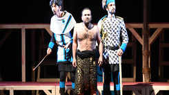 Gazab Kahani, a comic play about friendship between an elephant and mahout staged in Jaipur