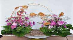 Flower art workshop to enhance home décor for Jaipur women