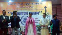 Jaipur artists pay homage to Pulwama martyrs