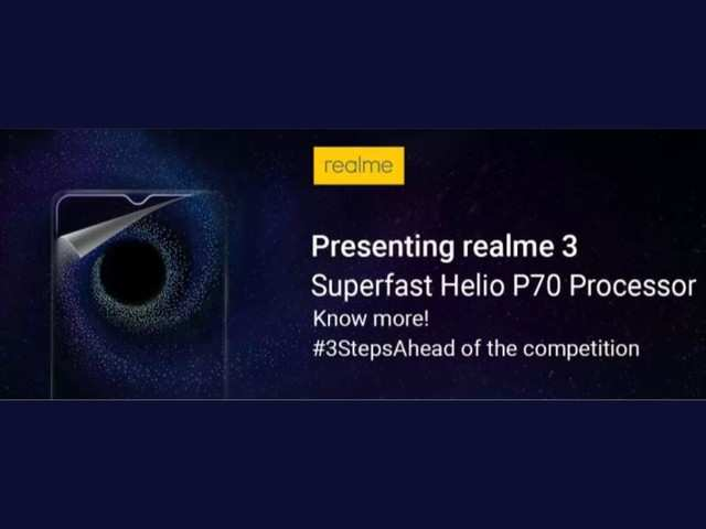 Realme 3 to house a 4230mAh battery and Helio P70 processor, reveals teaser on Flipkart