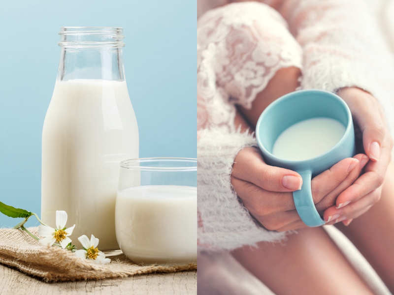 Hot Milk Or Cold Milk Which Is Better Times Of India