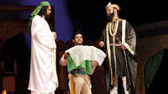 A play on the life of ruler Tughlaq staged in Lucknow