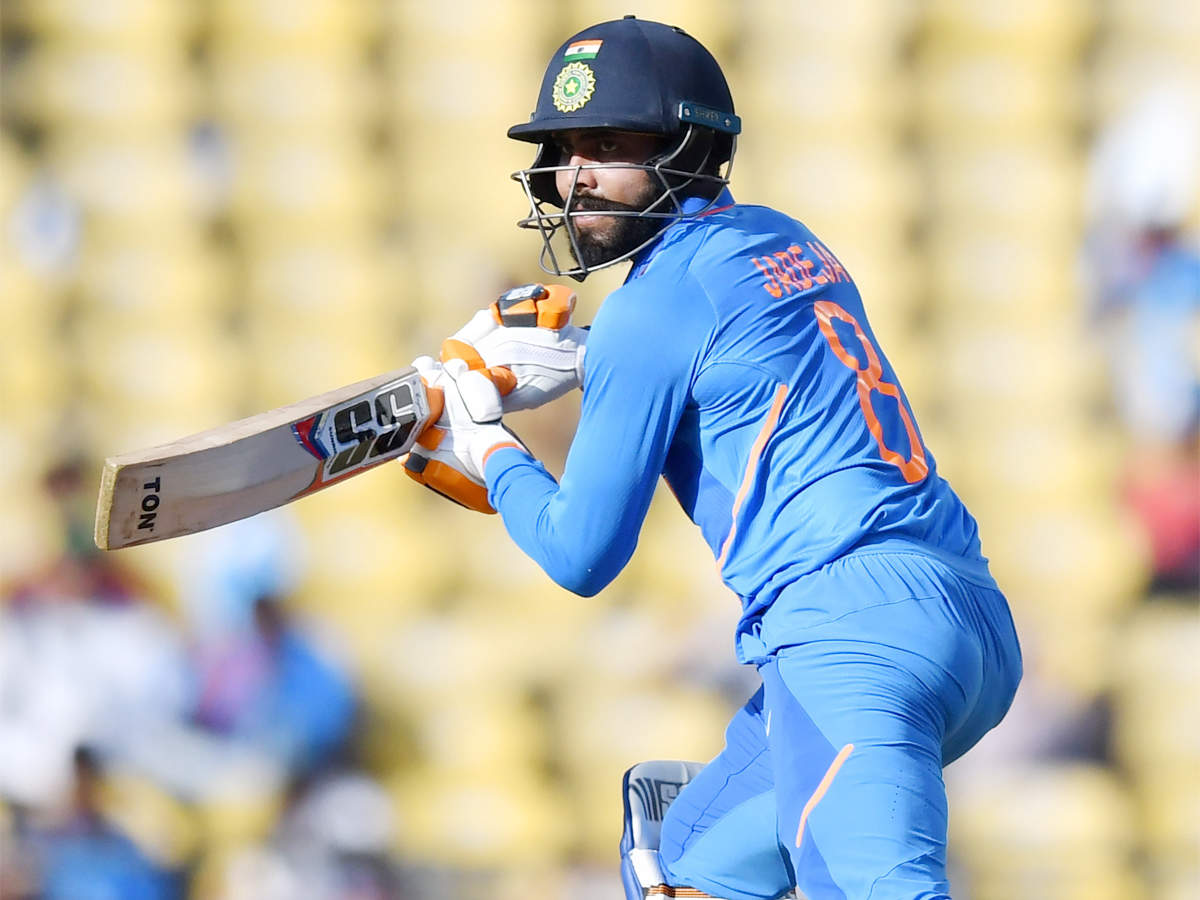 Allrounder Ravindra Jadeja achieves a rare double in ODIs   Cricket News - Times of India