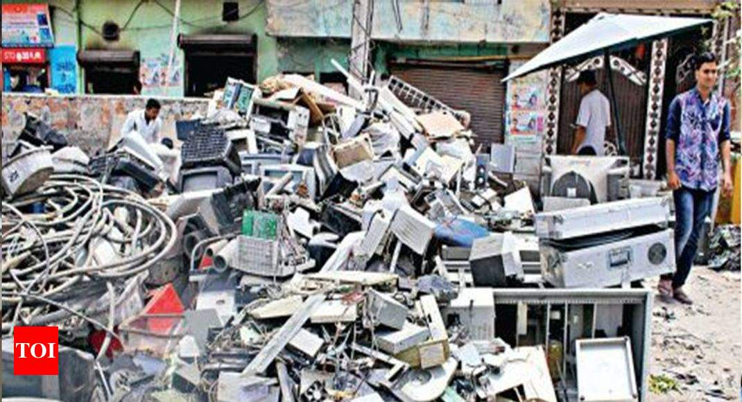 83% of Chandigarh e-waste toxic: PGI study   Chandigarh News