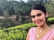 Kavya Gowda enjoys shoot in Munnar
