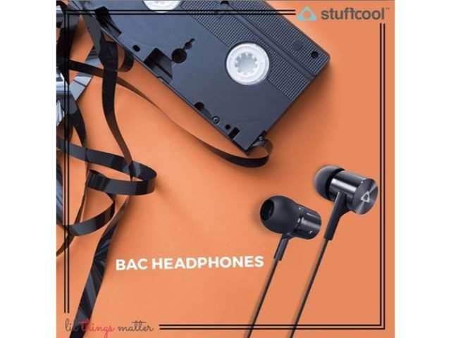 Stuffcool Bac in-ear wired earphone launched at Rs 999