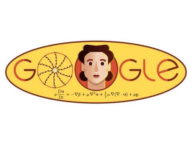 Google celebrates Russian Mathematician Olga Ladyzhenskaya's 97th Birth anniversary with a doodle