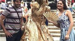 Sayyeshaa Saigal-Arya's wedding celebrations begin; see pics