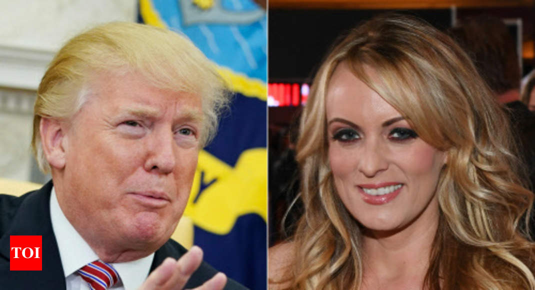 US judge dismisses Stormy Daniels' lawsuit against Trump