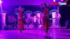 Varada Vaishampayan odissi dance performance at Spring festival
