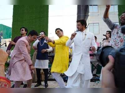 SRK, KJo & RK dance at Akash-Shloka's wedding