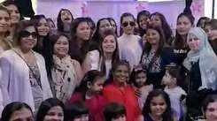 Malaika Arora celebrates Women's Day at Divayoga