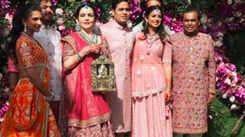 Global personalities attend Akash Ambani-Shloka Mehta's wedding ceremony
