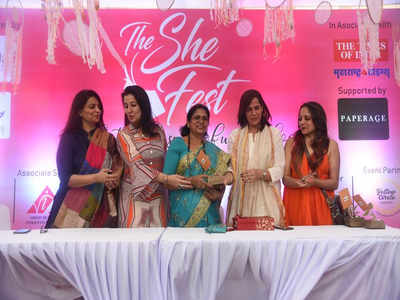 Colourful 'The She Fest' showcases women's skills | Nagpur News