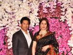Akash Ambani and Shloka Mehta Mangal Parv pictures