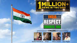 Hindi Song India Respect Chahta Hai Sung By Sonu Nigam, Shaan, Shreya Ghoshal, Shankar Mahadevan, Master Shyam and Yasoob Ali