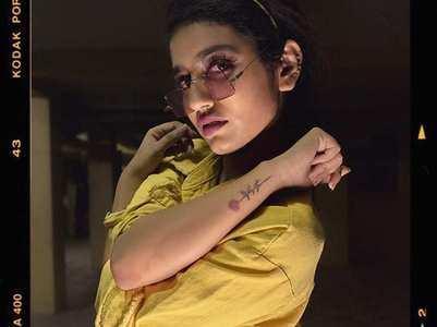 Priya Prakash Varrier's all new glam avatar