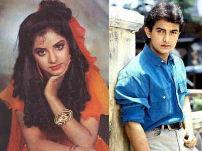 When Divya Bharti cried because of Aamir