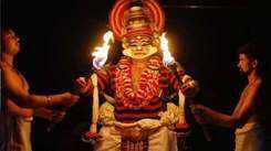 Kalyana Sougandhikam koodiyattam performed at Manu Jose's Ala at Mulanthuruthy